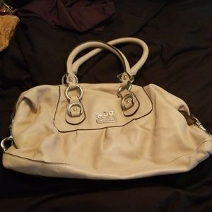 Tan Coach Purse